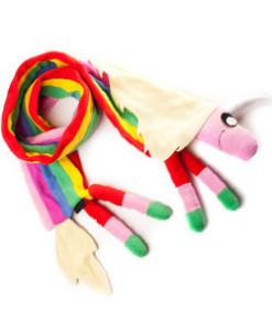 bufanda lady arcoiris
