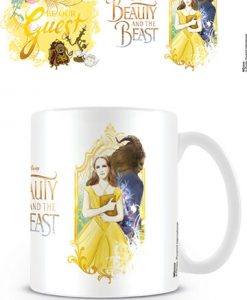 taza bella y bestia be our guest