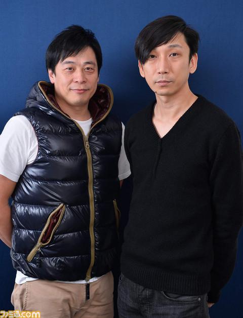 Tabata (izquierda) y Nozue (derecha)