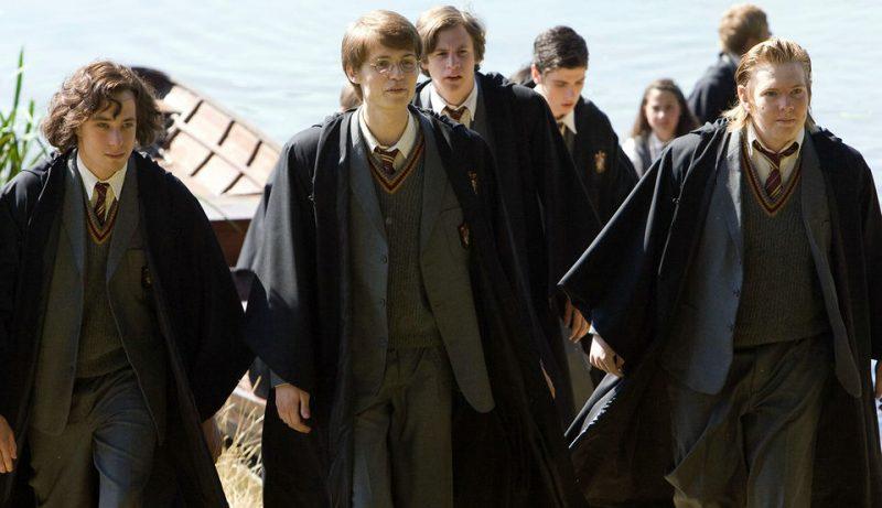 James, Sirius, Lupin y Pettigrew