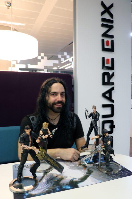 Jesús Díez García - FFXV - Square Enix Europe office